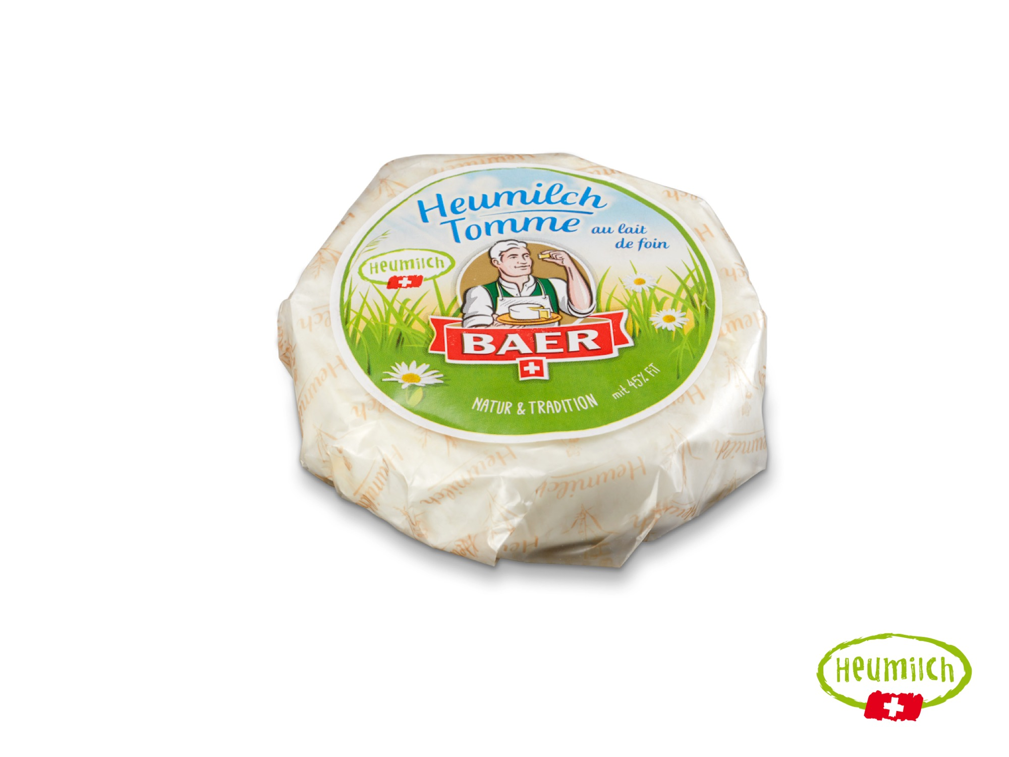 Heumilch Tomme