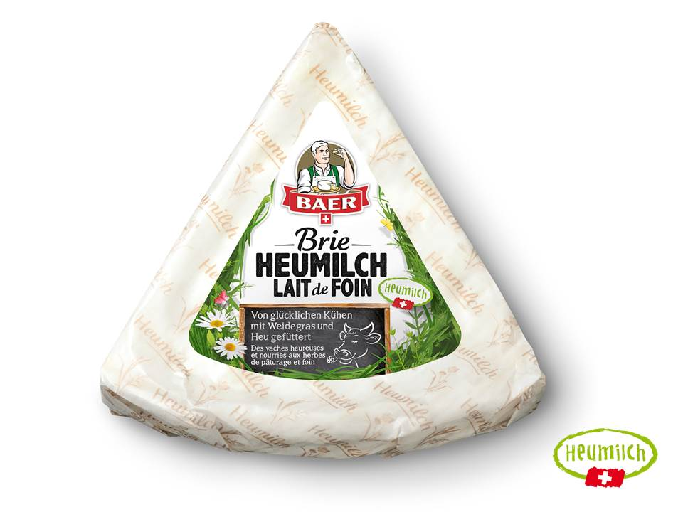 Heumilch Brie