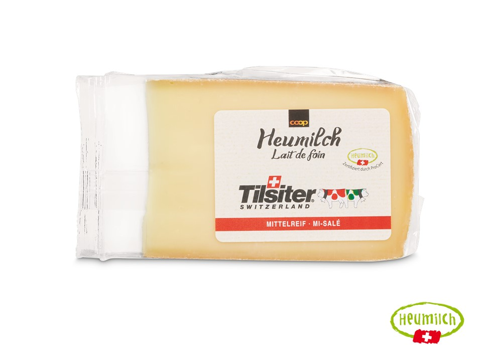Heumilch-Tilsiter